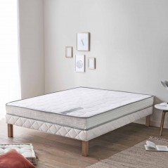 Matelas Queen Size 160x200 en mousse HR Hybrid Bellatrix